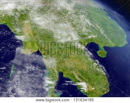 Myanmar From Space