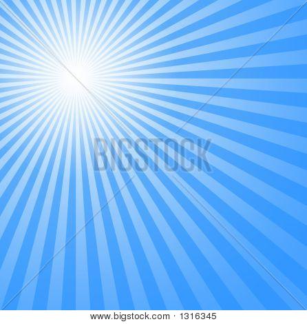 Azul frio sol