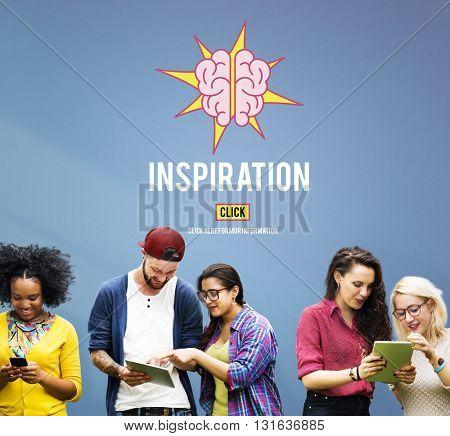 Inspiration Believe Goals Dreams Website Concept
