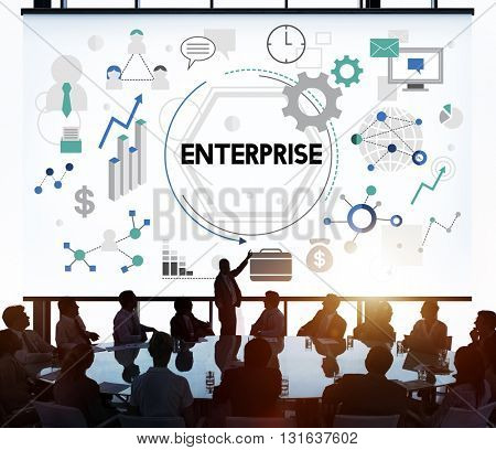 Enterprise Company Corporation Firm Operation Concept