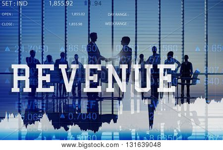 Revenue Budget Currency Economy Finance Concept