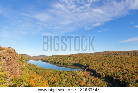 Lake of the Clouds - Porcupine Mountains in the Upper Peninsula of Michigan