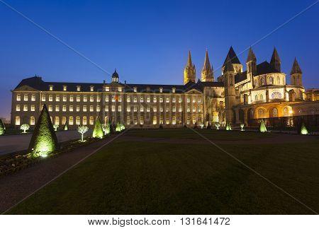 L'Abbaye-aux-Hommes Church of Saint Etienne Caen Normandy France