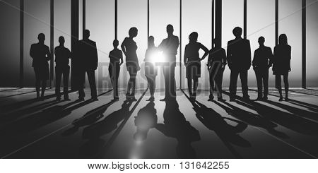 Business People Meeting Team Corporate Concept