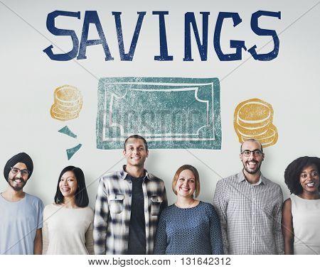 Savings Money Finance Economics Currency Concept