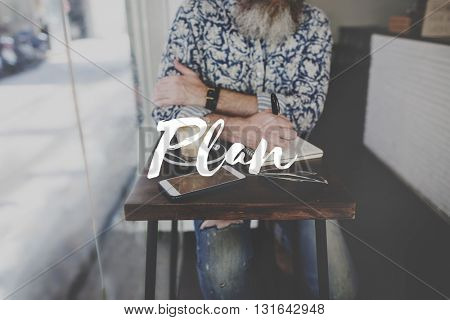 Plan Planning Project Business Strategy Concept