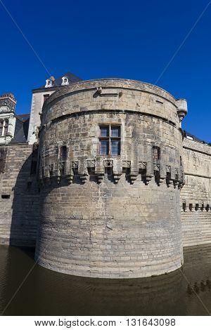 Castle of the Dukes of Brittany Nantes Pays de la Loire France