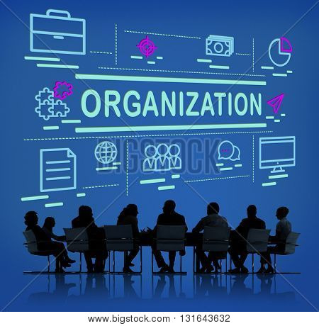 Organization Business Collaboration Company Concept