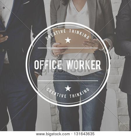 Office Department Organization Business Work Concept