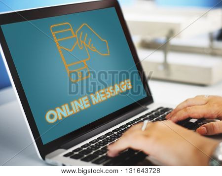 Electronic Mail Technology Email Graphic Concept