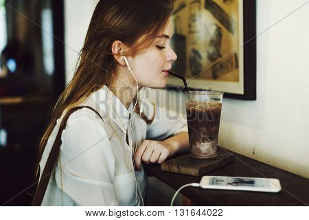 Cafe Casual Cheerful Chilling Coffee Relax Concept