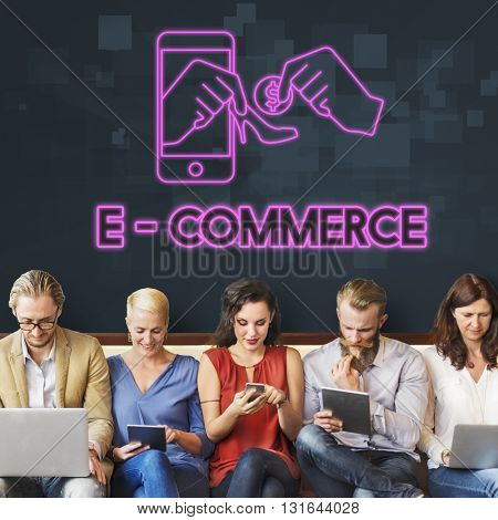 Commerce Business Selling Online Marketing Concept