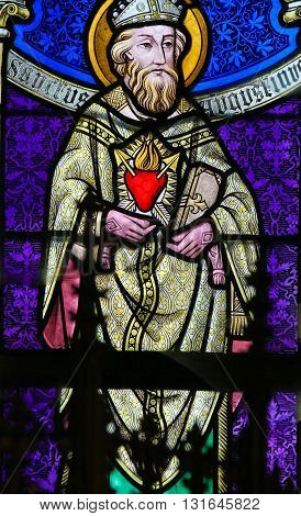 Stained Glass - Saint Augstine