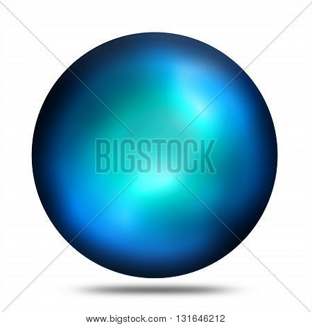 Isolated abstract plasma ball sphere illustration against white background