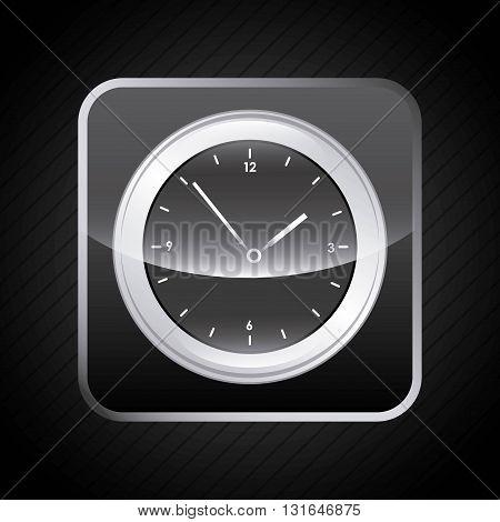 app store design clock, vector illustration eps10 graphic