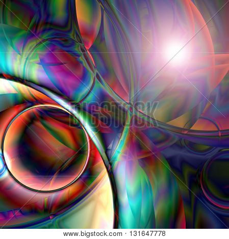 Abstract coloring horizon gradients background with visual lens flare   effects