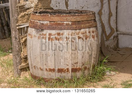 The old leaky barrel is in the barn