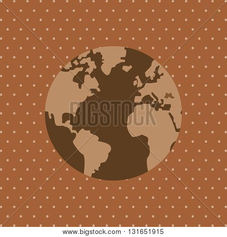 Save Planet concept with icon design, vector illustration 10 eps graphic.