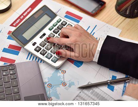 Accountant Woman