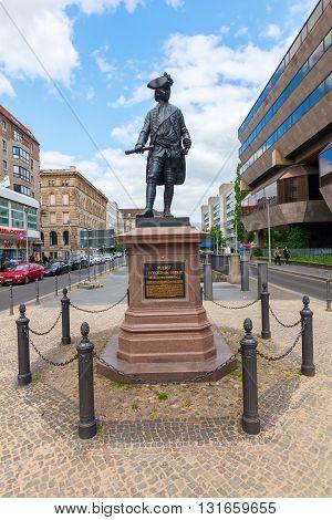 Statue Of Leopold Of Dessau In Berlin, Germany