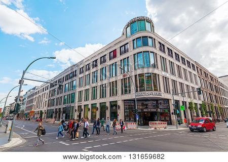 Mall Of Berlin In Berlin, Germany