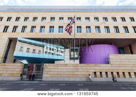 British Embassy In Berlin, Germany