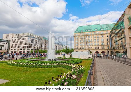 Paris Square In Berlin, Germany