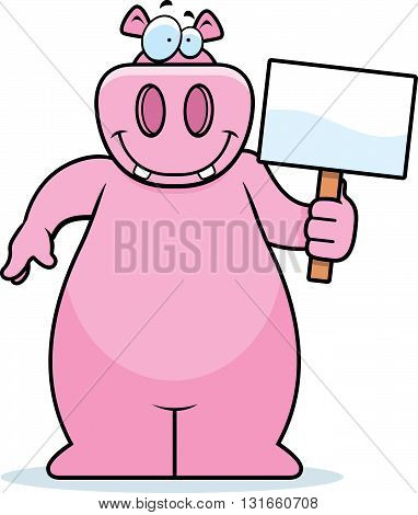 Hippo Sign