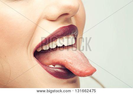 Sexy Female Lips