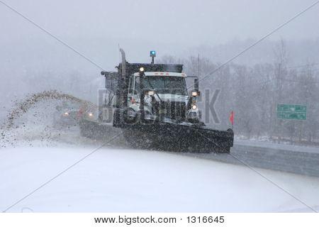 Snowplow In Action