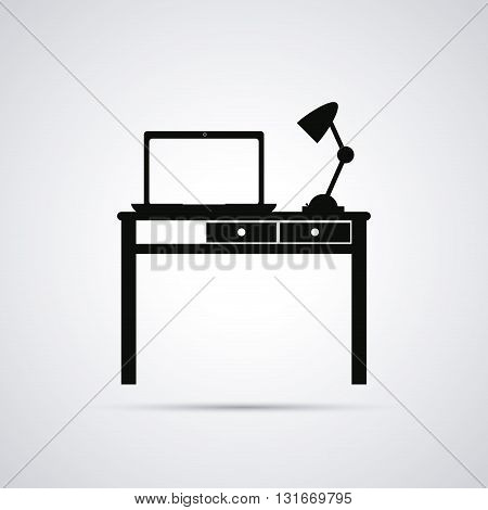 Work time concept with icon design, vector illustration 10 eps graphic.