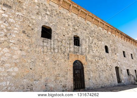 Colonial building in Santo Domingo, Dominican Republic