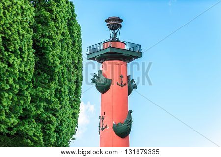 Rostral Column Top