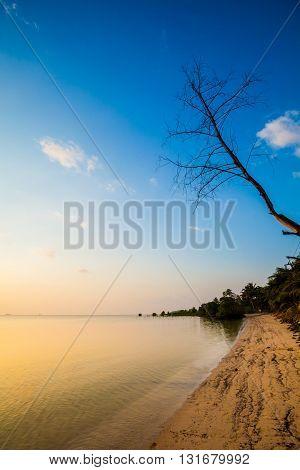 Sunset On Koh Phangan Island