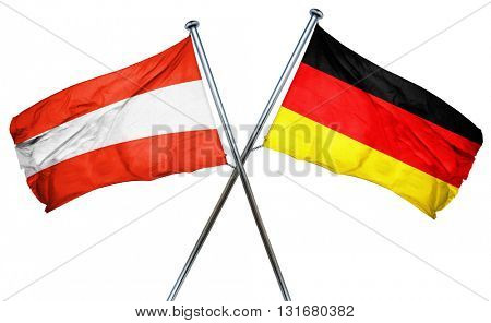 Austria flag  combined with germany flag