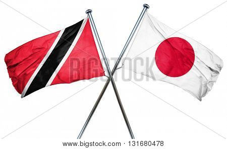 Trinidad and tobago flag  combined with japan flag