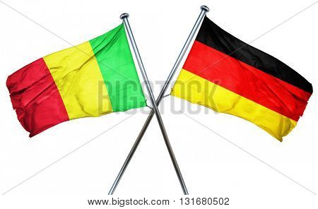 Mali flag  combined with germany flag