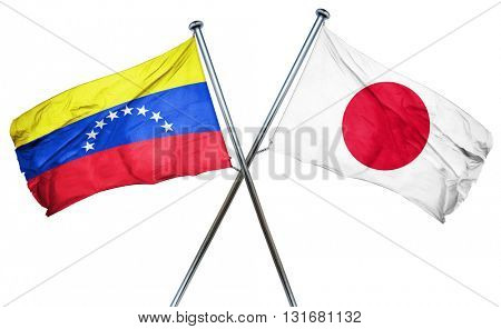 Venezuela flag  combined with japan flag