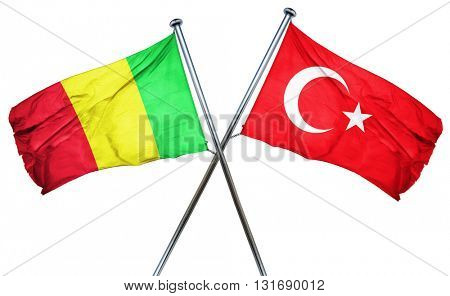 Mali flag  combined with turkey flag