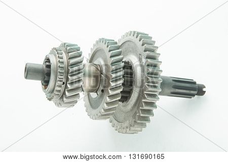 used gear for replace in car engine shaft transmission