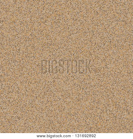 Abstract natural texture. Sand background. Vector illustration