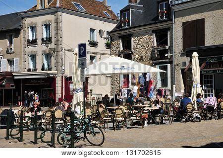 Rambouillet France - mai 6 2016 : the city center