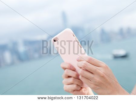 Woma send sms on smart phone
