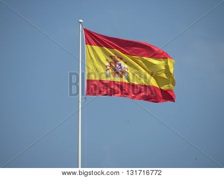 Spanish Flag Floating