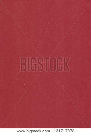 Dark red cardboard sheet useful as a background