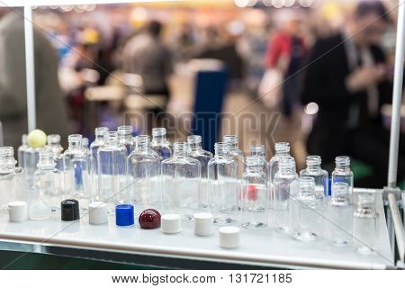 Different plastic bottles