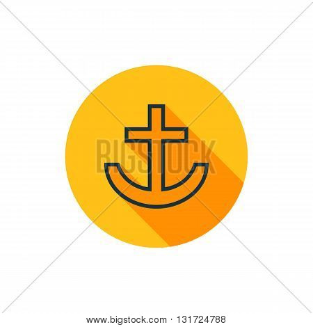 Vector Anchor Icon