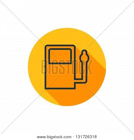 Vector Gas Station Icon