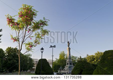 Picture of city center of Ruse - Bulgaria