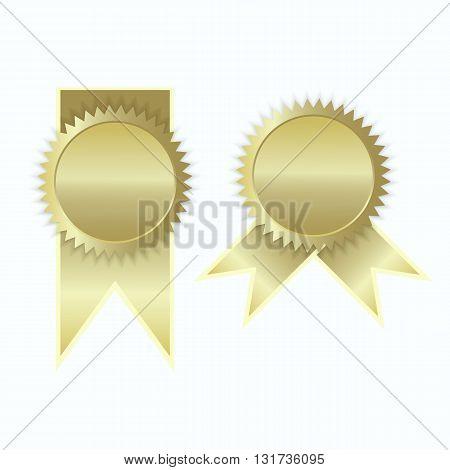 Gold label icon sign elegance vector illustration